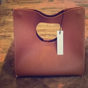 Handbags - Vintage Minimalist Hoxis Soft Leather Clutch